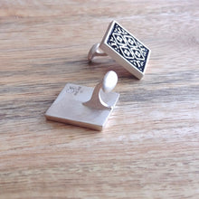 Load image into Gallery viewer, ARCHITECTURE, Sterling Silver Cuff Links