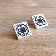 Load image into Gallery viewer, GARDEN and LIN, Sterling Silver Cufflinks