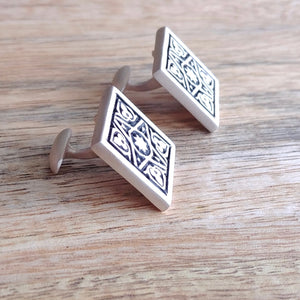 FOUR GARDENS, Sterling Silver Cufflinks