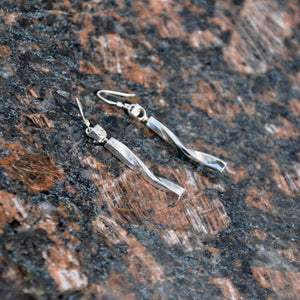 URBAN NIGHT LIFE, Pair of Earrings, Sterling Silver