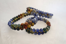 Load image into Gallery viewer, SUMMER BREEZE, Bracelet of Natural Stone Beads (Polished)