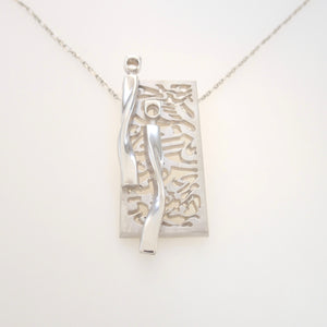 URBAN NIGHT LIFE, Pendant of Sterling Silver