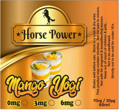 Mango Yogurt - Horse Power 60ml