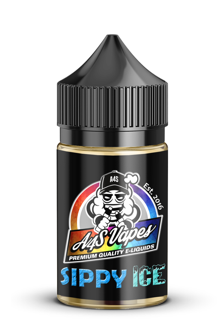 A4S Vapes - Sippy Ice MTL 12mg 30ml