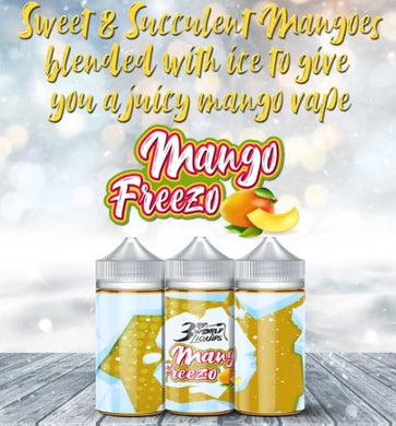 3rd World Liquids - Mango Freezo 100ml
