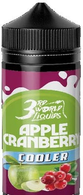 3rd World Liquids - Apple Cranberry cooler 120ml