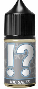 !? Exclamation + Question mark Blends 30ml Nic Salts