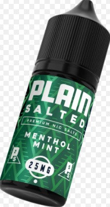 TKO - Plain Salted Menthol Mint 30ml 25mg