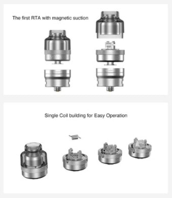 Voopoo RTA Pod For Drag S / Drag x