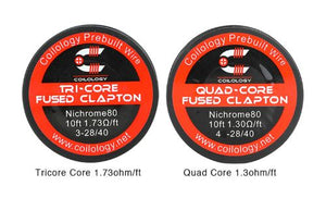 Coilology Tricore/Quad Core Fused Clapton Wire