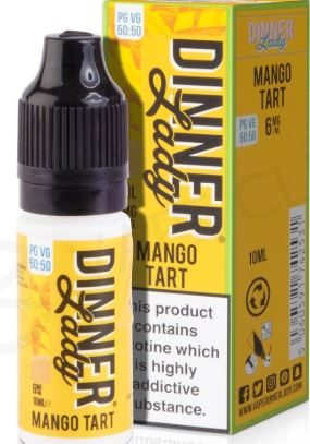 Dinner Lady - Mango tart MTL 12mg 10ml