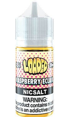 Loaded E-Liquid - Raspberry Eclair Salts 50mg 30ml