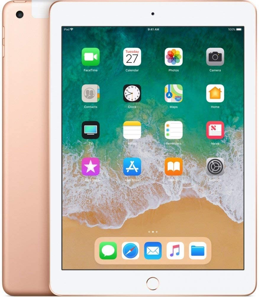 Apple iPad 6th Gen 128GB Gold Cellular