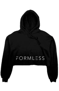 Formless Crop Fleece Hoodie