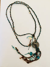 Load image into Gallery viewer, PLAITED HEMP NECKLACE