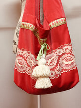 Load image into Gallery viewer, Red Velvet Bag