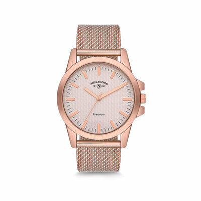Women's Rose Gold Metal Watch
