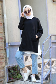 Split-seam Sweatshirt