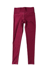Tall Band Legging Magenta Star