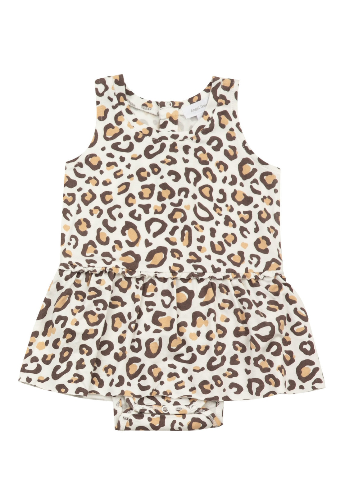 Leopard Bodysuit With Skirt