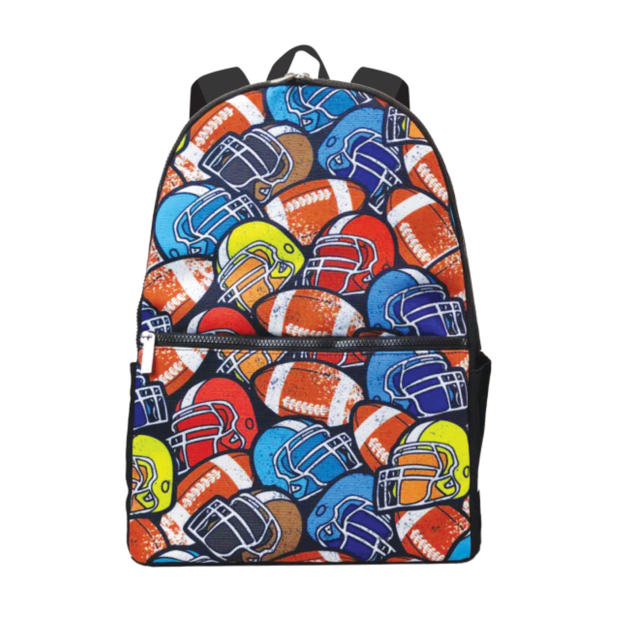 Football Helmets Backpack & Lunch Tote