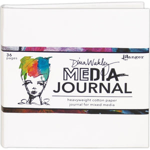Dina Wakley by Ranger 6  x 6 Mixed media journal