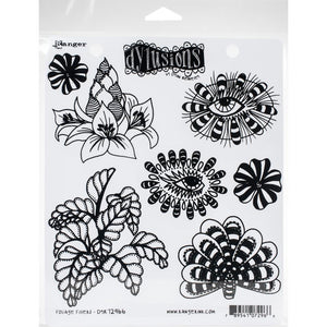Dyan Reaveley's Dylusions  Foliage Fillers - Stamp