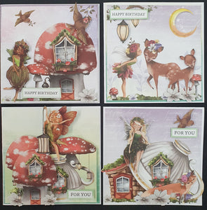 "Card Kit by Carol Deal "" Fairyland"""