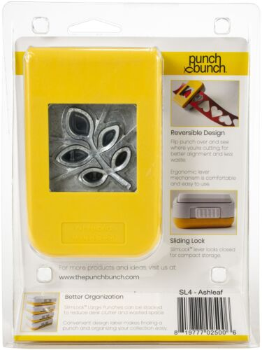PUNCH BUNCH Slim Lock Punch LRG Ashleaf