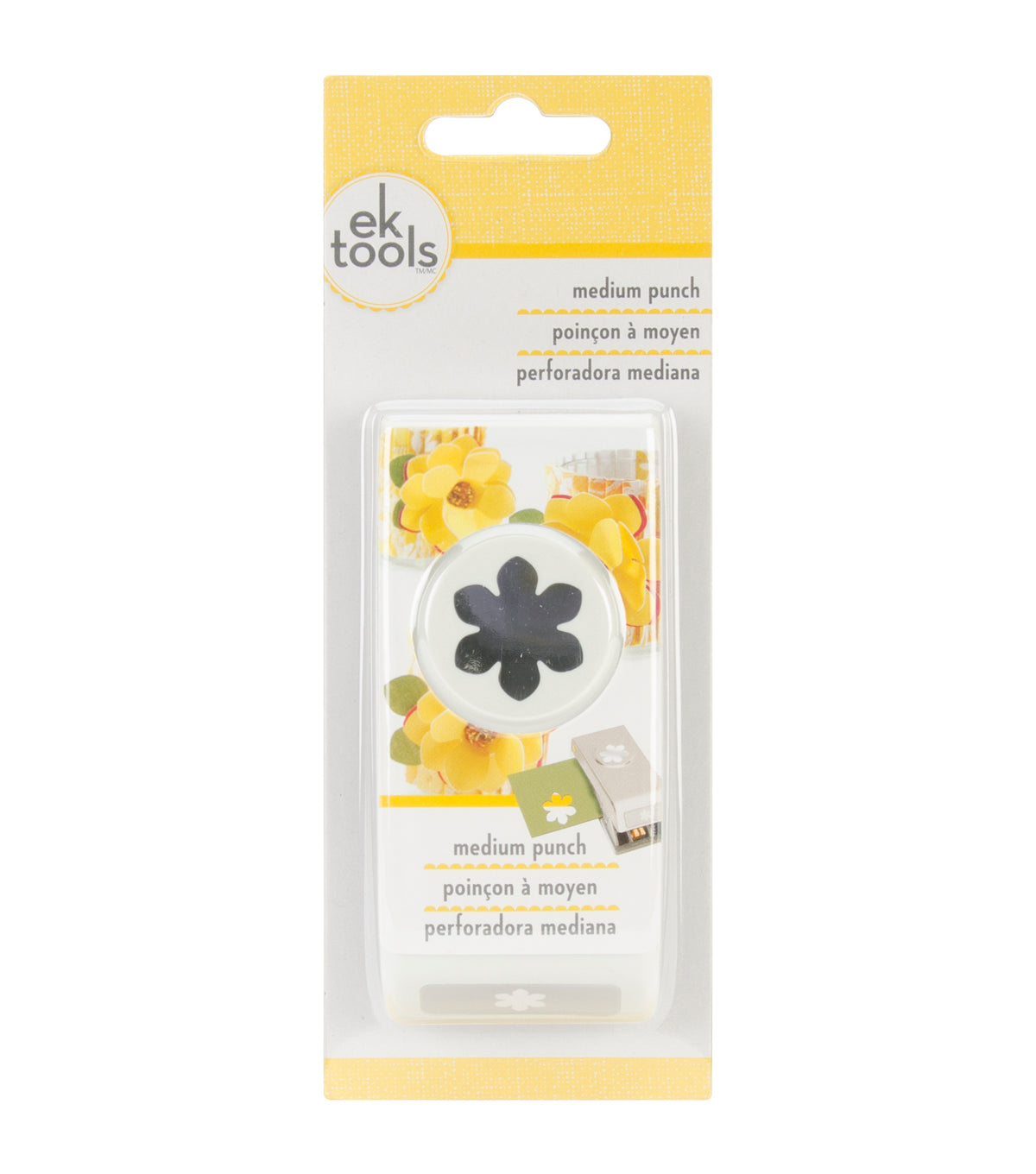 "EK Tools MEDIUM Punch  "" Gardenia """