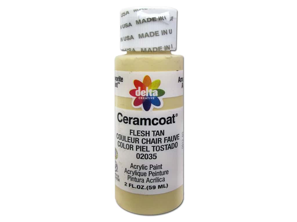 CERAMCOAT Acrylic Paint 59ml 2floz  - Flesh Tan
