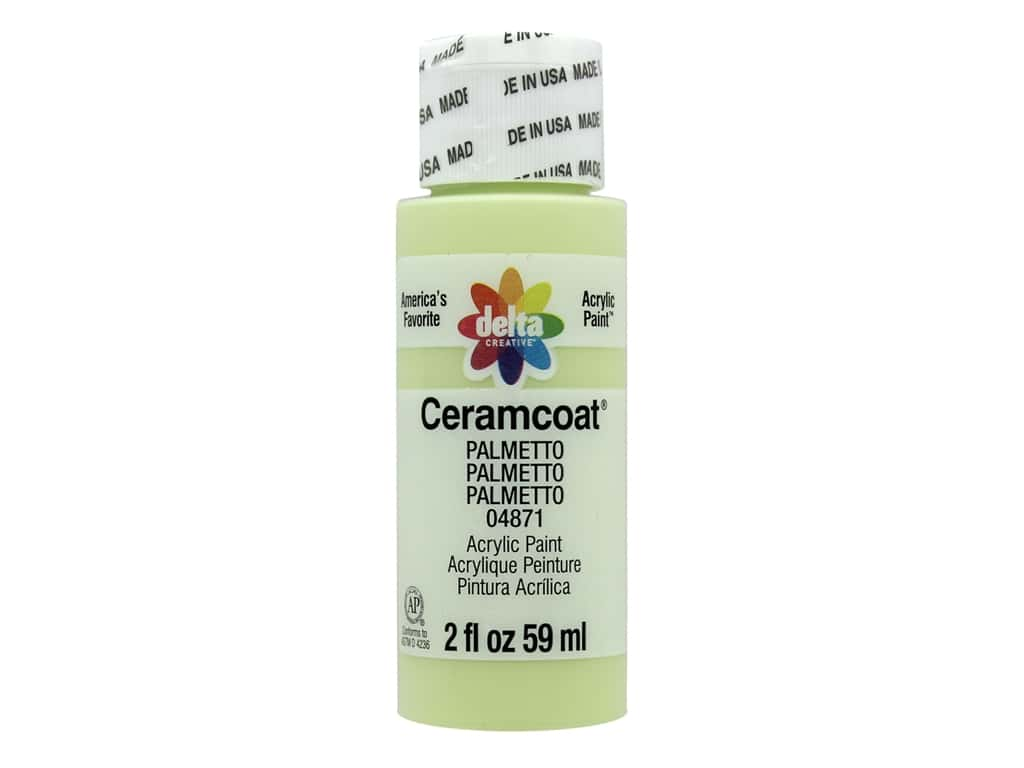CERAMCOAT Acrylic Paint 59ml 2floz -Palmetto
