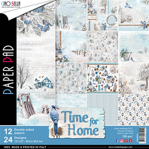 CIAO BELLA Paper Pad - Time For Home