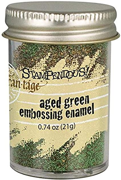 STAMPENDOUS Frantage Embossing Enamel - Aged Green