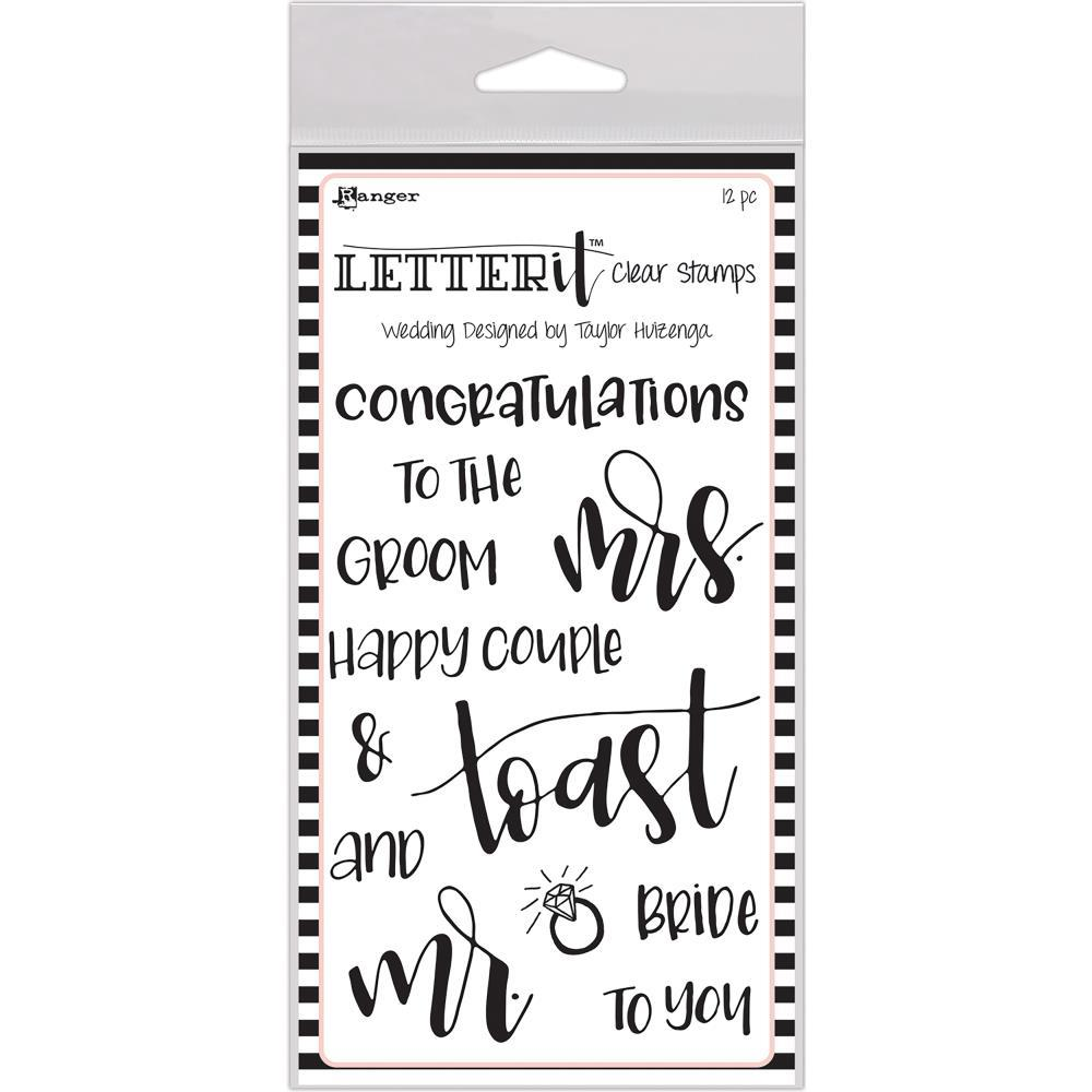 RANGER Letter it - Clear Stamps . Wedding