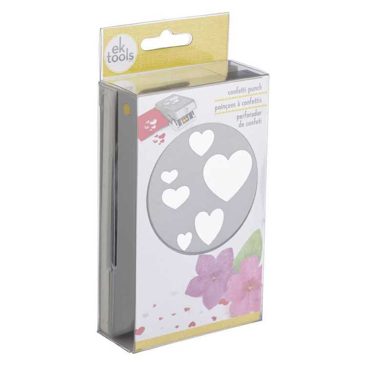 "EK Tools LARGE Punch  ""  Confetti Heart """