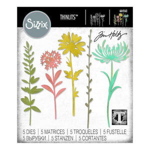 "Tim Holtz  "" Wildflower Stems 1 "" Die"
