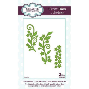 CREATIVE EXPRESSIONS Dies by Sue Wilson - Blossoming Branch 3pc