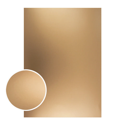 Couture Creations - Mirror Board Matte Bronze Foil .10 pc