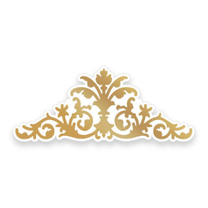 COUTURE CREATIONS Nouveau Ornate Centrepiece - Cut Foil and Emboss Die