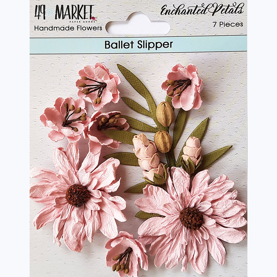 49&Market Enchanted Petals - Ballet Slipper