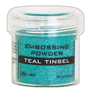 RANGER Embossing Powder - Teal Tinsel