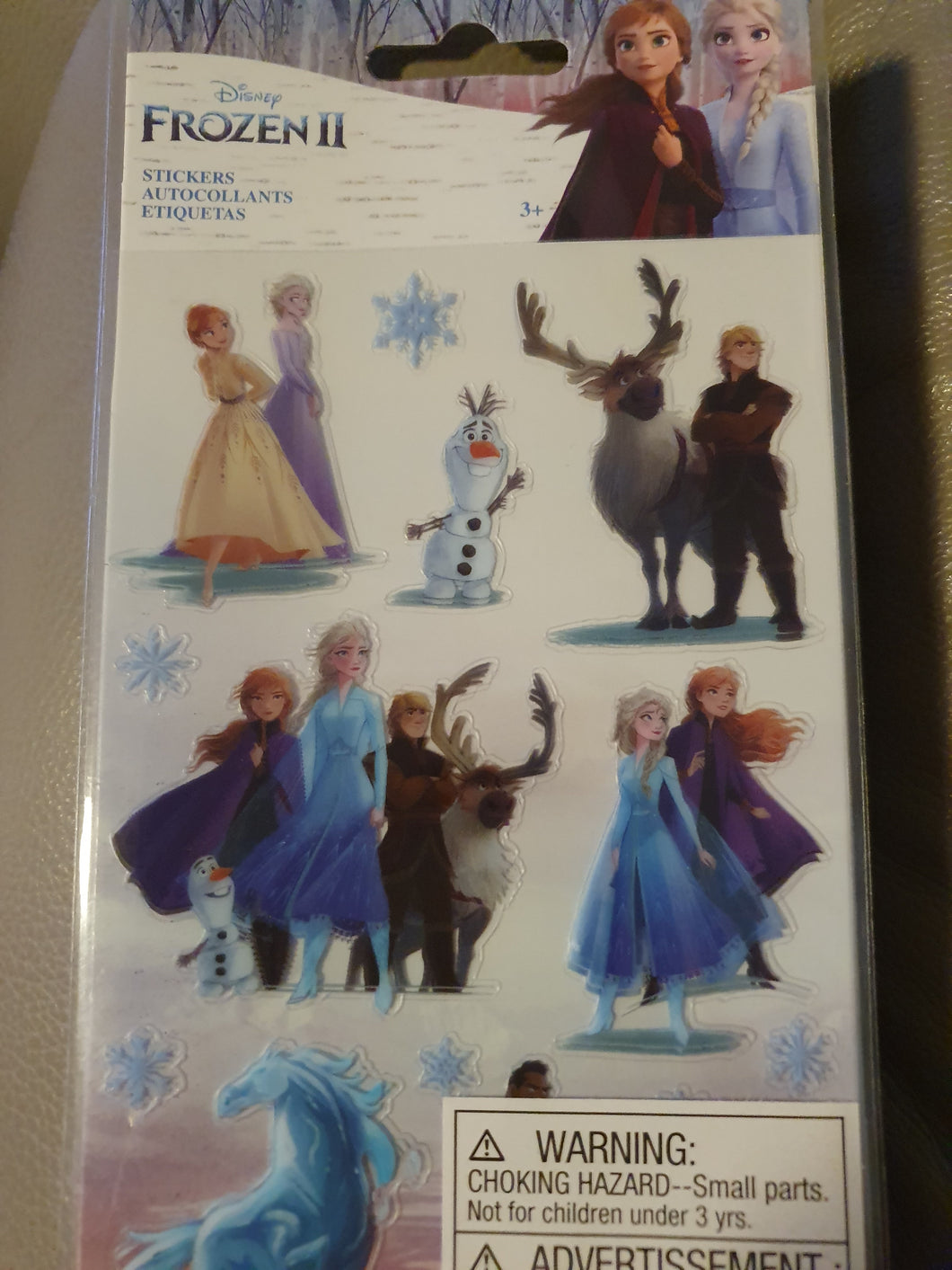 SALE - Disney Frozen 2 Sticker sheet