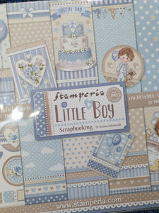 STAMPERIA - Little Boy  paper pack