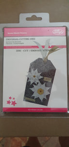 Universal Cutting Dies - Nested Melati Flowers
