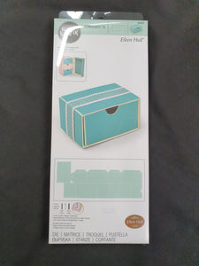 SIZZIX - DIE- SCOREBOARDS XL  Eileen Hull, Box Stacking Drawer