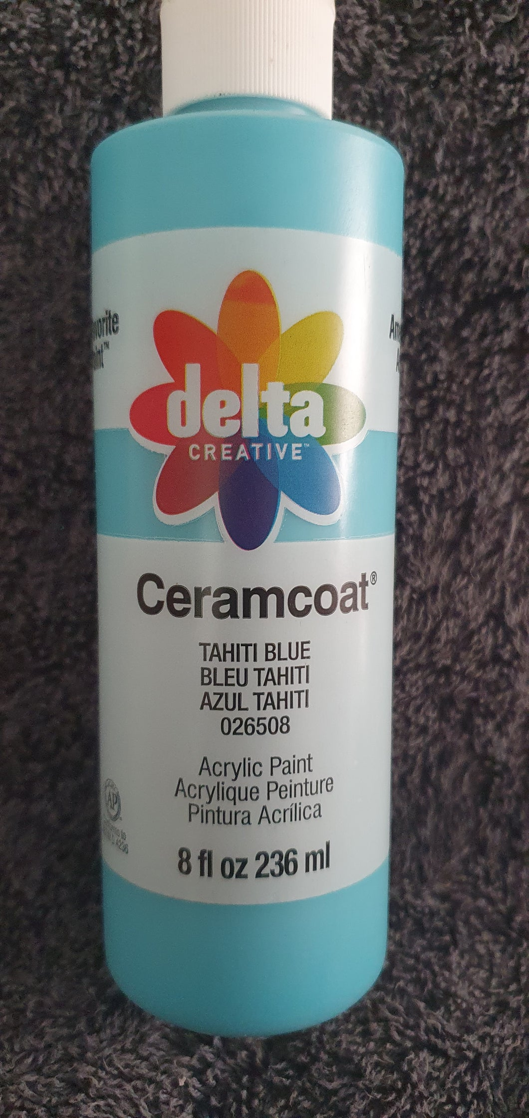 CERAMCOAT Acrylic Paint - Tahiti Blue 236ml