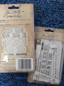 "TIM HOLTZ - Quote Chips "" Theories """
