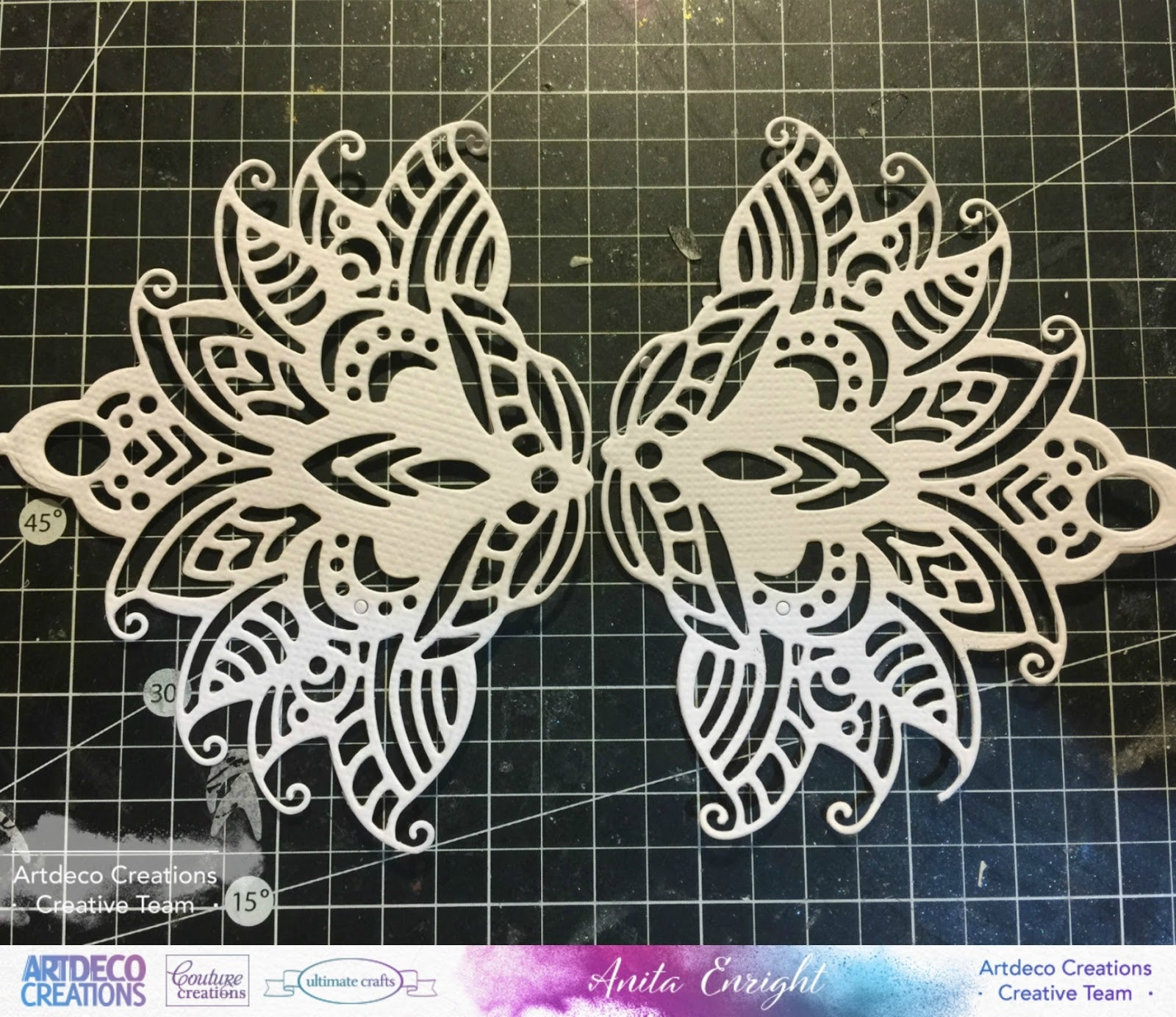 COUTURE CREATIONS -Ultimate Crafts Moonlit Orchid Die