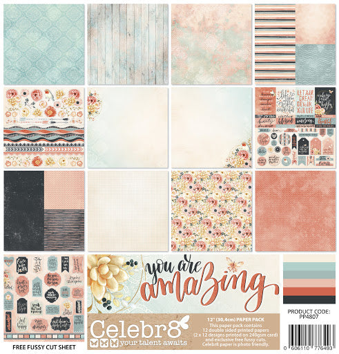 CELEBR8 - You are Amazing Paper Pack